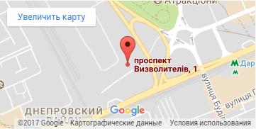 мы на карте google map