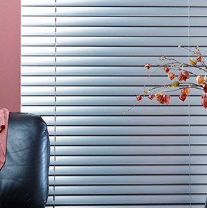 horizontal blinds about compressor
