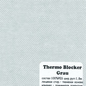THERMO BLOCKER GRAU
