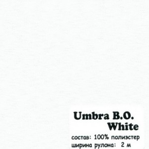 UNBRA B.O WHITE