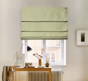 шторы на окне - каскад блэкаут 04
