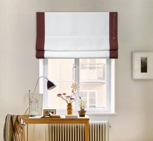 шторы на окне - призма лён 09-01 кант 09-10