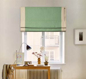 шторы на окне - призма лён 09-07 кант 09-03