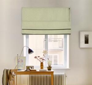 шторы на окне - соло блэкаут 04