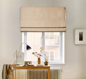 шторы на окне - соло блэкаут 07