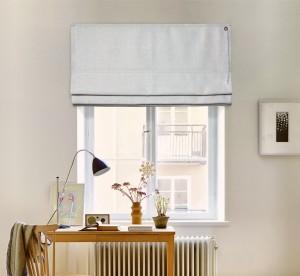 шторы на окне - соло лён 09-02