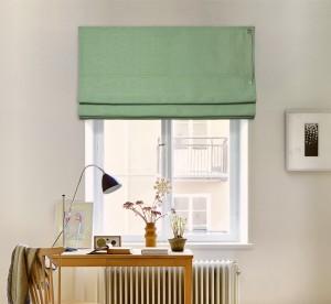 шторы на окне - соло лён 09-07