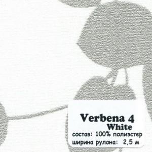 VERBENA 4 WHITE